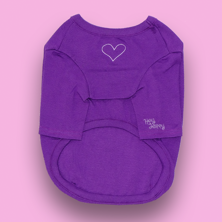 Purple love top