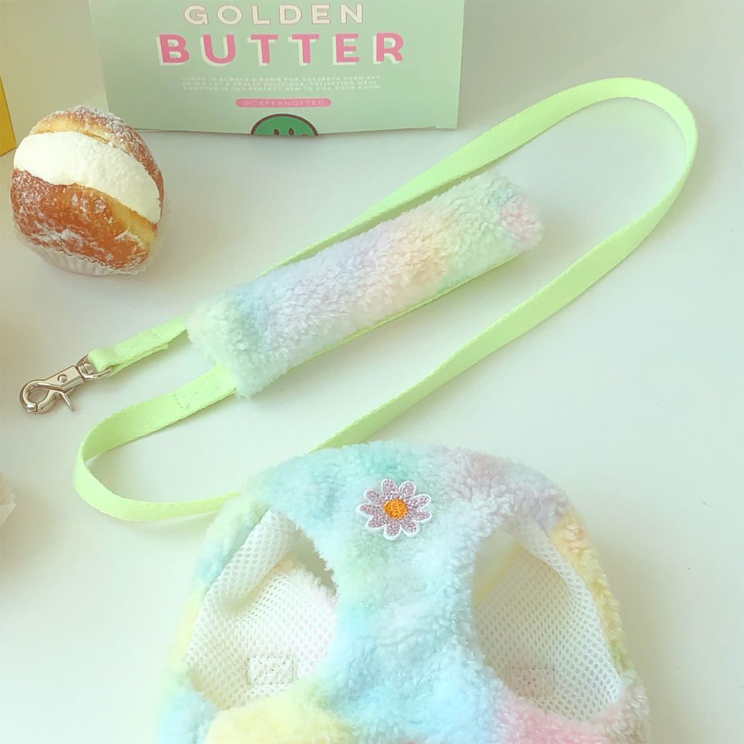 Pastel Cotton Candy Leash
